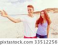 beach summer couple 33512256