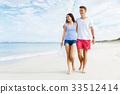 海灘 夏天 夏 33512414