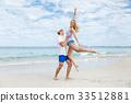beach, couple, vacation 33512881