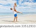 beach, couple, vacation 33512933