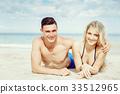 海灘 夏天 夏 33512965