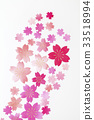 벚꽃 종이 질감 33518994