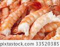 蝦烹調壽司材料 33520385