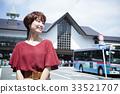 เดินทางหญิง Kamakura เดินรถสั้นเดินคนเดียว 33521707
