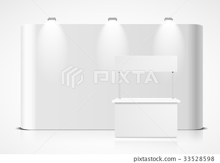 Exhibition Booth Mockup - Stock Illustration [33528598] - PIXTA