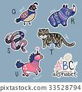 alphabet animal cute 33528794