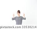 一名年輕女子(指著) 33530214