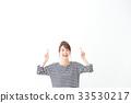 一名年輕女子(指著) 33530217