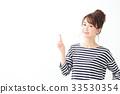 여성, 여자, 가리키다 33530354