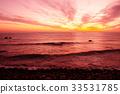 강원도, 노을, 바다 33531785