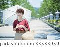 เดินทางหญิง Kamakura เดินรถสั้นเดินคนเดียว 33533959