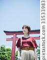 เดินทางหญิง Kamakura เดินรถสั้นเดินคนเดียว 33533983
