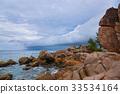 Storm at ocean - Seychelles 33534164