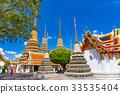 bangkok, sky, wat pho 33535404