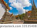 bangkok, sky, wat pho 33535408