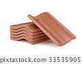 Clay roof tiles 33535905