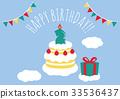 慶生 生日 兩歲兒童 33536437