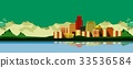 cityscape background  panoramic 33536584