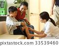 นักเรียนประถม,ผู้ป่วย,คนไข้ 33539460