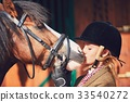 Bond between horse and rider 33540272
