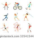 sport, athlete, vector 33541544