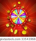 vector, casino, fortune 33543966