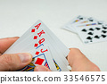 Playing cards in poker. One card more - will be an 33546575