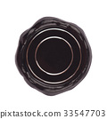 black wax blank seal 33547703