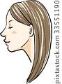 漂亮 長頭髮 長髮 33551190