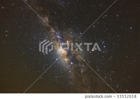 Milky way galaxy with stars and space dust 33552018