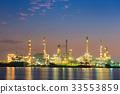 Transportation logistics and oil refinery plant  33553859