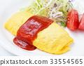 大米煎蛋 蛋包飯 蛋 33554565