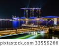 SINGAPORE City skyline Marina Bay  33559266