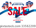 Labor Day Sale promotion advertising banner 33562209