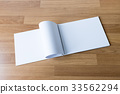 Blank catalog and book , magazines,book mock  33562294