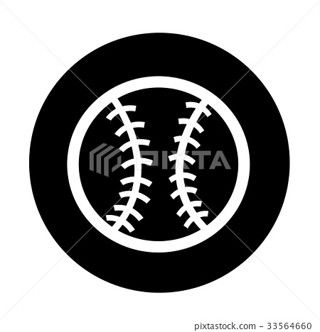 baseball icon illustration design 33564660