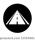 road icon illustration design 33564681