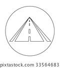 road icon illustration design 33564683