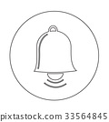 bell icon illustration design 33564845