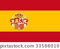 西班牙 旗幟 旗 33566010