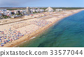 Aerial. Famous tourist beaches of the city Monte 33577044