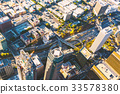 Aerial view of a Downtown LA 33578380