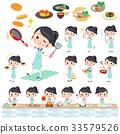 shortsleeved shirt Sailor suit_cooking 33579526