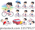 shortsleeved shirt Sailor suit_city bicycle 33579527