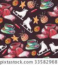 seamless,pattern,christmas 33582968