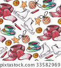 seamless,pattern,christmas 33582969