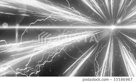 광선과 입자의 이미지 번개 33586967