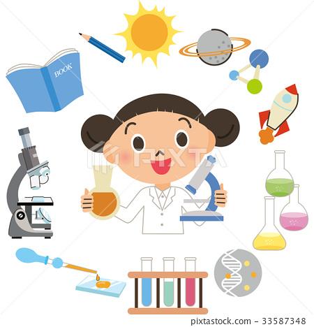 孩子們做科學實驗 33587348
