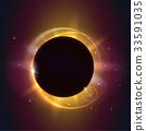 Solar eclipse, astronomical phenomenon - full sun 33591035