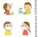 Cold prevention (without background color) 33591626
